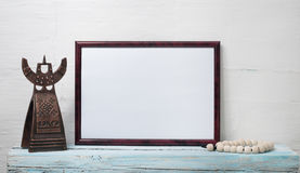 Empty frame for an inscription Royalty Free Stock Photography