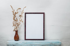 Empty frame for an inscription Royalty Free Stock Images