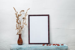 Empty frame for an inscription Stock Photography