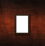 Empty frame on an old wall Royalty Free Stock Images