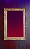Empty frame on the wall Royalty Free Stock Image