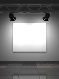 Empty Frame on Wall. Stock Photo