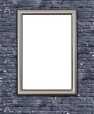 Empty Frame on Wall. Royalty Free Stock Photo