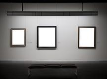 Empty frames Royalty Free Stock Photos