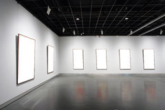 Empty frames Royalty Free Stock Image