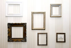 Empty frames Stock Images