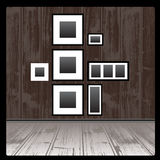 Empty frames Royalty Free Stock Photo
