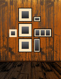 Empty Frames Royalty Free Stock Image