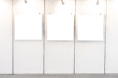 Empty frames in a room Royalty Free Stock Photography
