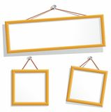 Empty frames. Vector. Stock Photography