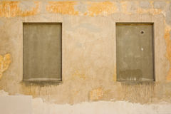 Empty frames on wall Royalty Free Stock Photography