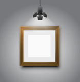 Empty frames Stock Image