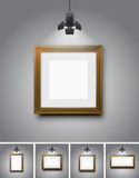 Empty frames Royalty Free Stock Photos