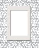 Empty framework against wallpaper. eps10 Stock Photography