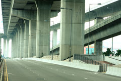 Empty freeway Royalty Free Stock Images