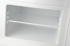 Empty Freezer Royalty Free Stock Photo