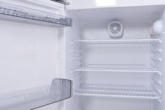 Empty fridge Royalty Free Stock Photography