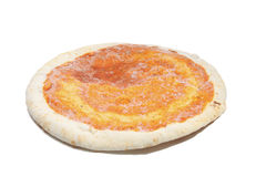 Empty frozen pizza Royalty Free Stock Photos