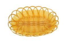Empty fruit basket Stock Images