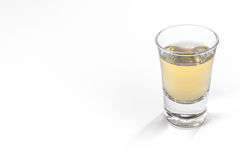 Empty Full Shot Glass Party Drinking Alcohol Beer Whiskey Clear Stock Photos