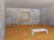 Empty gallery Royalty Free Stock Photo