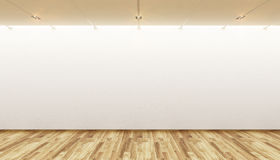 Empty gallery Stock Photo