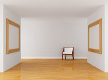 Empty Gallery S Hall Royalty Free Stock Photo