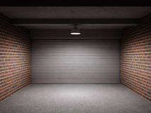Empty garage Stock Image