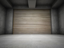 Empty garage Royalty Free Stock Photos