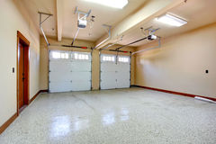 Empty garage. Royalty Free Stock Photos