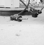 Empty gas pump nozzles Stock Image