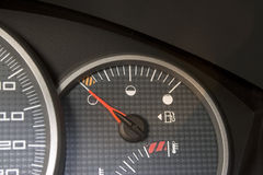 Empty Gas Tank Royalty Free Stock Photos