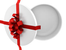 Empty gift box Royalty Free Stock Image