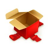 Empty gift box Royalty Free Stock Photography