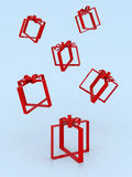 Empty gifts Royalty Free Stock Photos