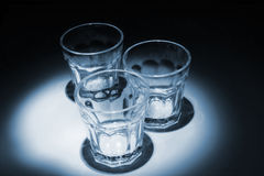 Empty glass Royalty Free Stock Images