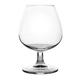 Empty glass. On a white background. Clipping path included Royalty Free Stock Image