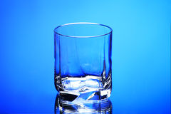 Empty glass Royalty Free Stock Photography