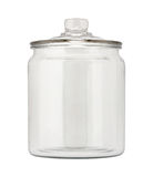 Empty Glass Apothecary Jar Royalty Free Stock Photos