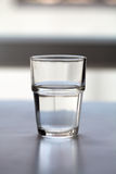 Empty glass. On a background Royalty Free Stock Image