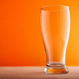Empty glass of beer Royalty Free Stock Images