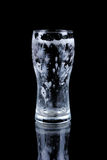 Empty glass of beer Royalty Free Stock Image