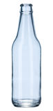 Empty glass bottle Royalty Free Stock Photo