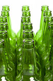 Empty glass bottles Royalty Free Stock Photo