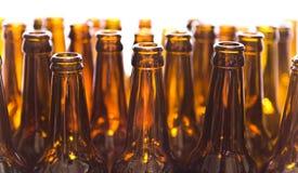 Empty glass bottles Stock Image