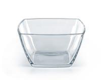 Empty glass bowl Stock Photography