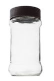 Empty glass container Royalty Free Stock Images