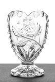 Empty glass cup Royalty Free Stock Photography