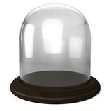 Empty glass dome Stock Image