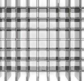 Empty glass grid Royalty Free Stock Photo